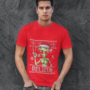 Alien Believe Red