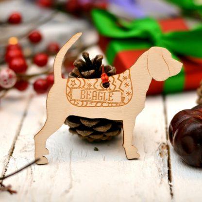 Mini Wood Beagle