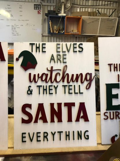 elves are watching