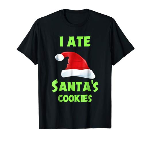 Ate Santas Cookies