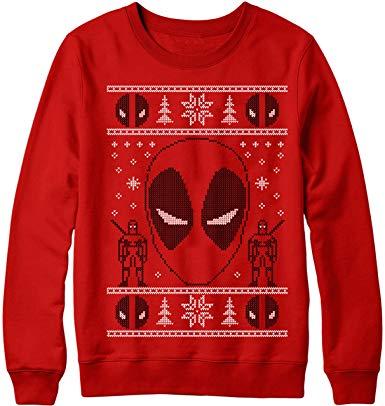 Deadpool Ugly Sweater