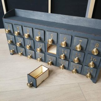 advent drawers