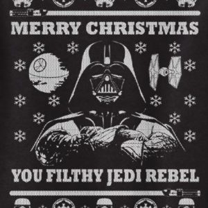 Merry Christmas filthy Jedi rebel