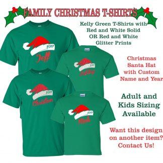 Family christmas with name