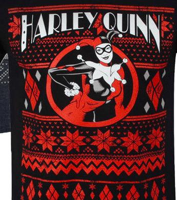 harley quinn ugly christmas