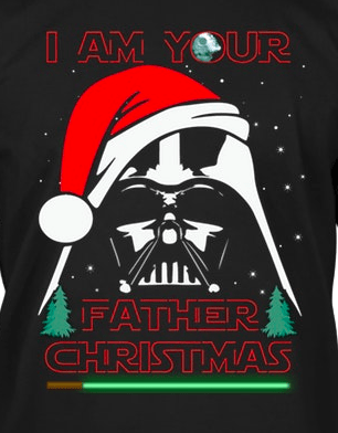 I am your father Christmas