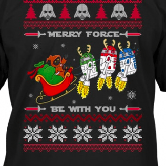 Merry Force ugly shirt