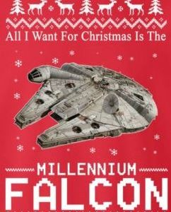 Millenium falcon for christmas