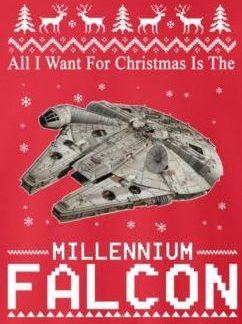 Millenium falcon for christmas