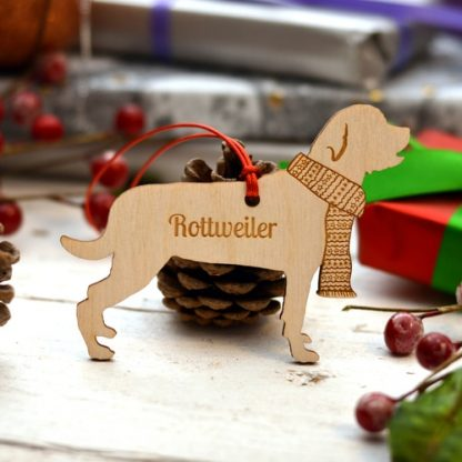 Breed specific Pet Tree Decorations