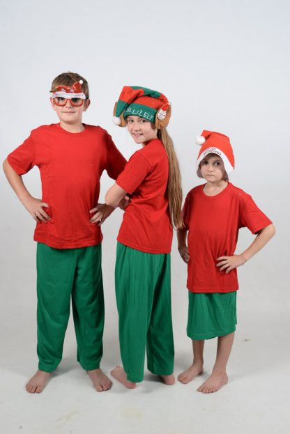 Xmas Red and Green Jammies 2