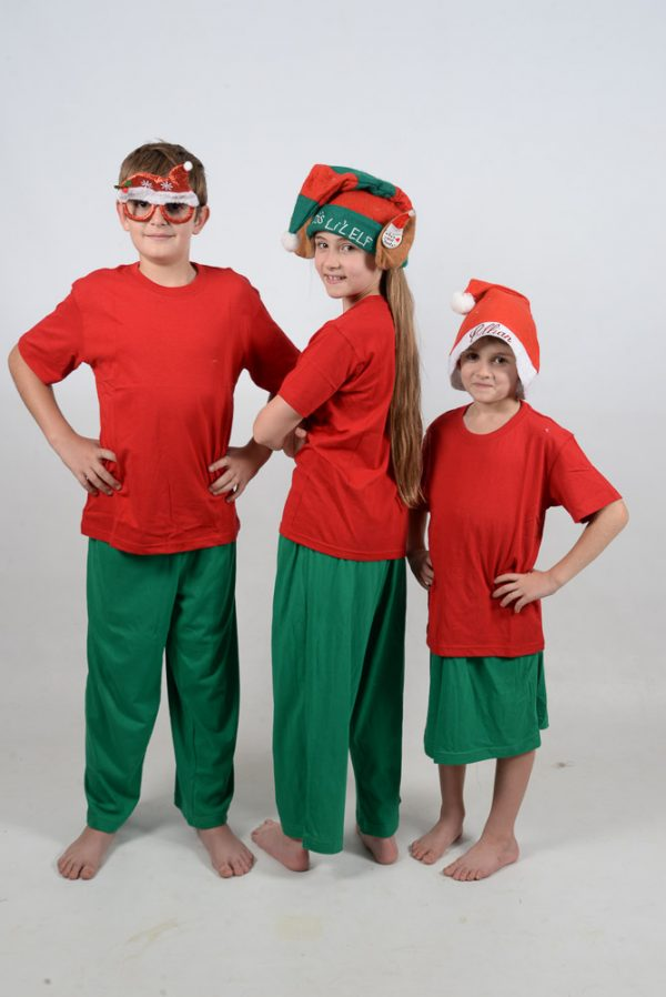 Xmas Red and Green Jammies