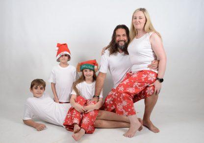 Xmas White Family 3