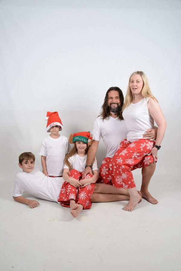 Xmas White Family 2