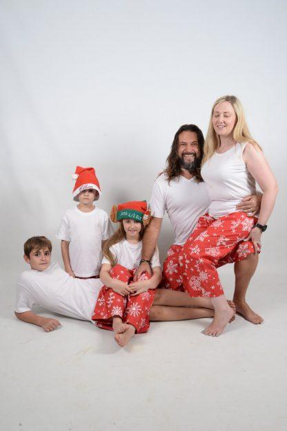 Xmas White Family