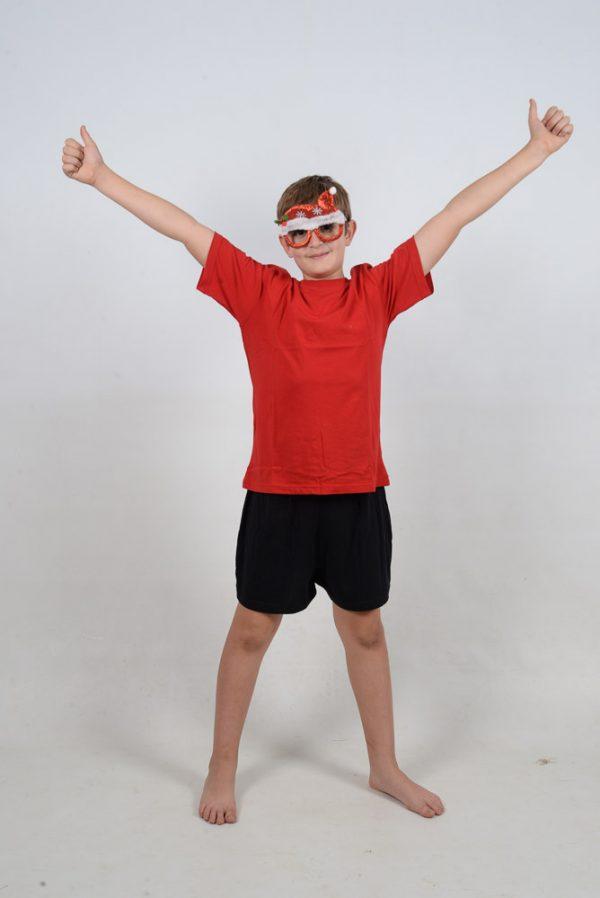 xmas glasses Thumbs up