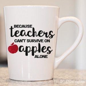 Teachers apples
