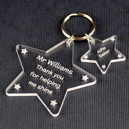 Stars Keyrings