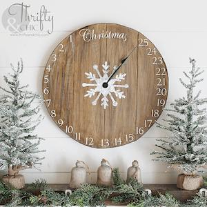 Christmas Home Advent Clock