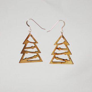 Tree Cutout Earrings 2