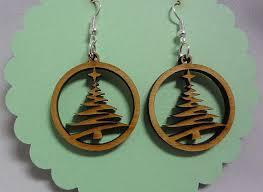 Tree Cutout Earrings