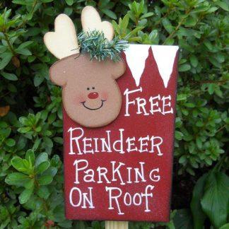 Free Reindeer Parking