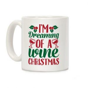 Wine Xmas Mug