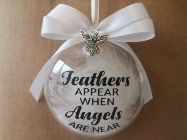 Bauble with Feather