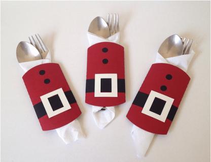 Santa Suit Cutlery