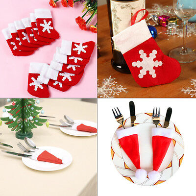 Various Xmas Cutlery Holders