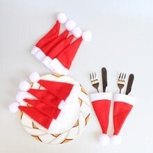 Xmas Cutlery Holder