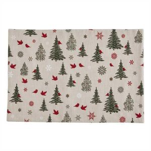 Xmas Tree Place Mat