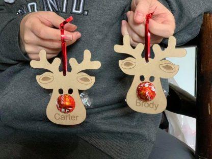 Lindt Reindeer Ornament