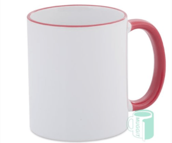 Red Rim and Handle