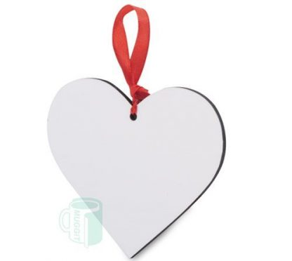 Heart Ornament Hardboard