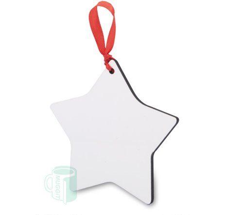 Star Ornament Hardboard