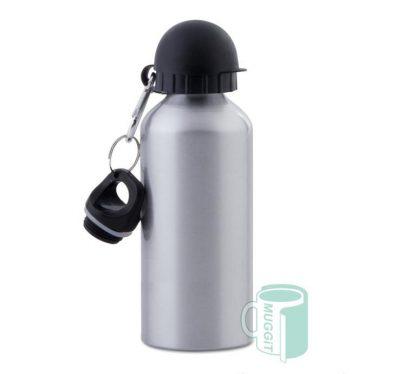 sports bottle 600ml Silver