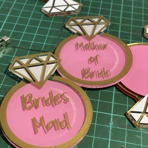 Bridemaid Badges
