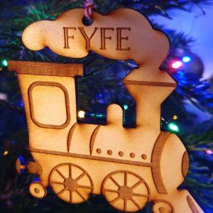 Steam Train Personalised